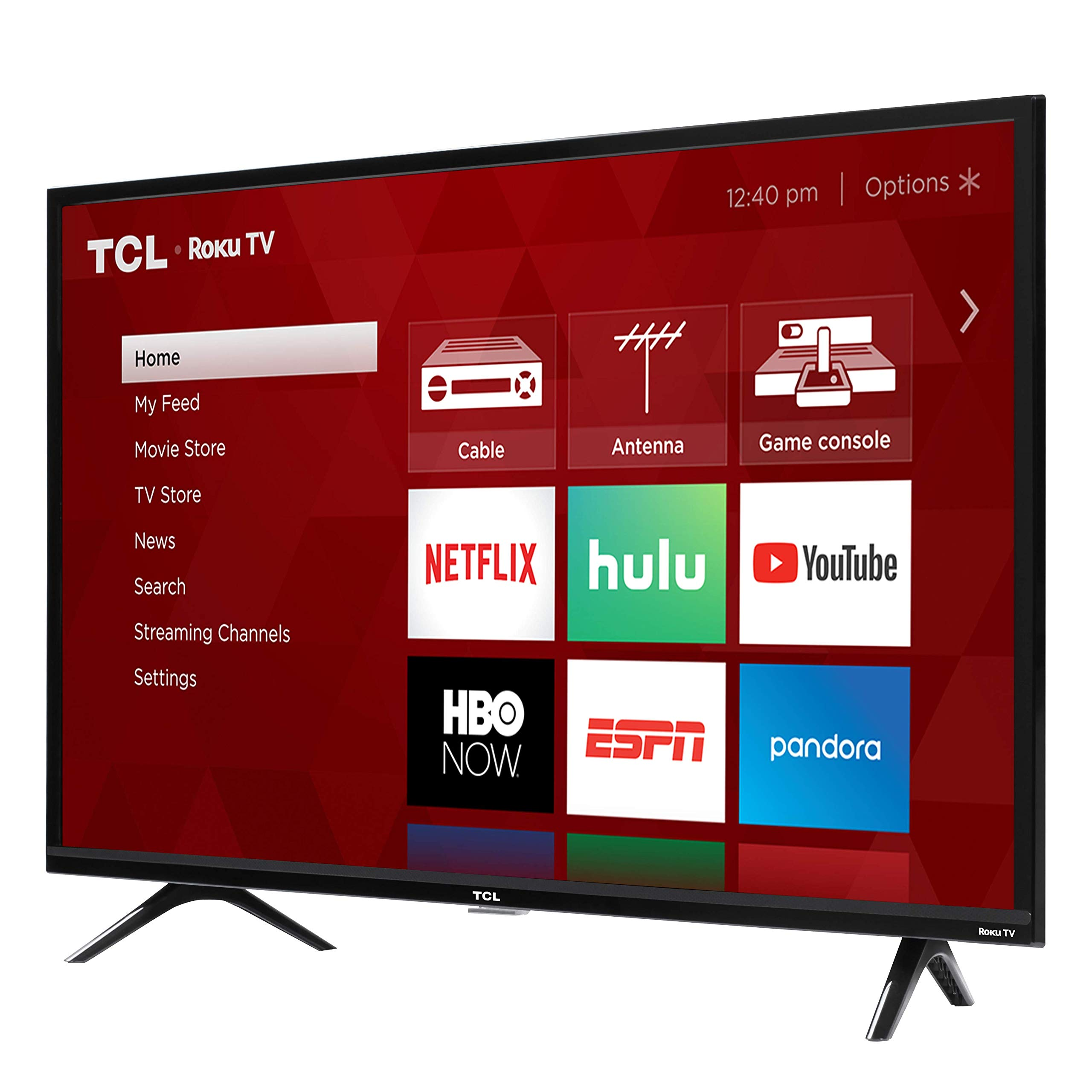 TCL 49S325 49 Inch 1080p Smart Roku LED TV (2019) by TCL (Image #2)