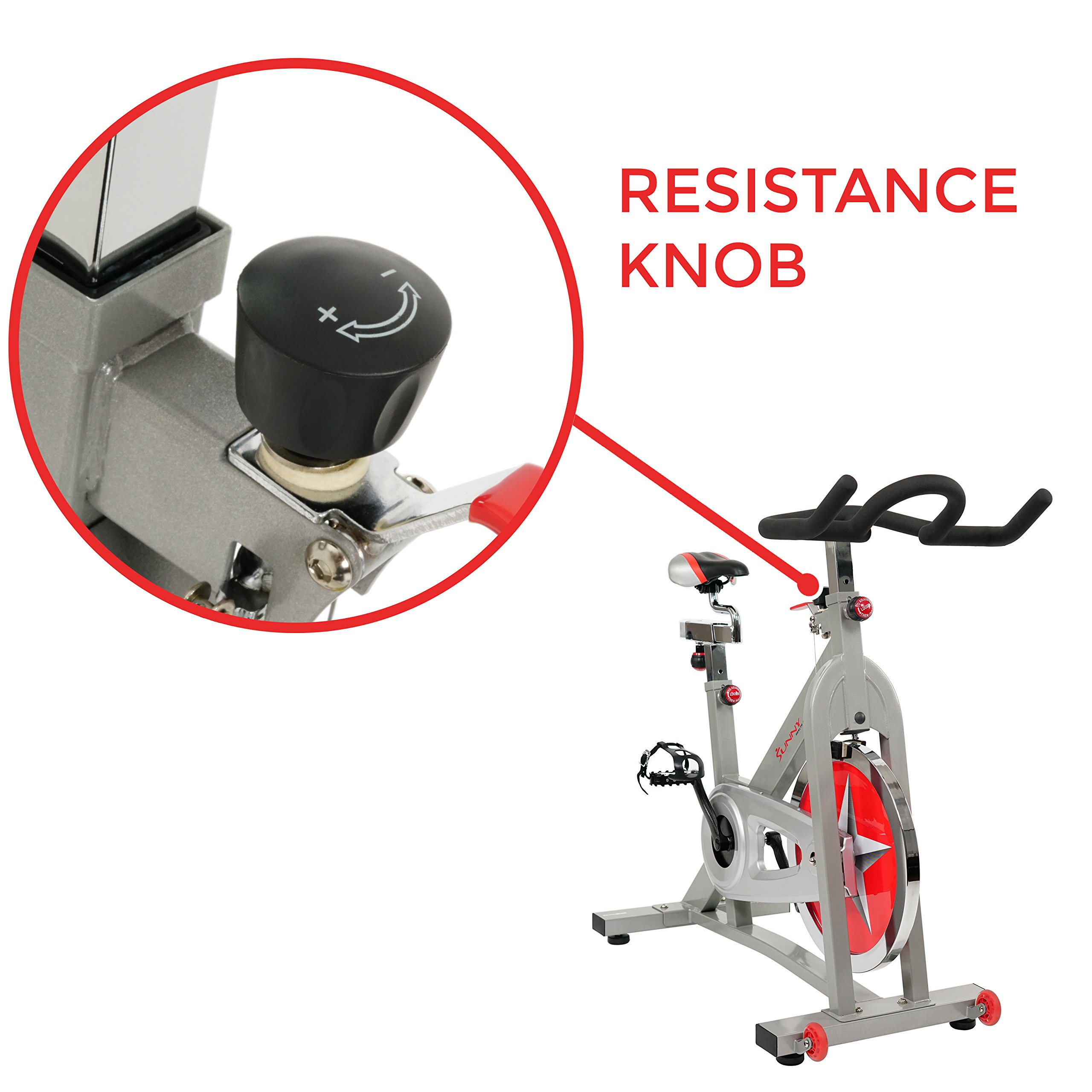 Sunny Health & Fitness Pro Indoor Cycling Bike by Sunny Health & Fitness (Image #9)