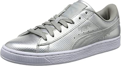 PUMA Basket Classic Holographic, Sneakers Basses Mixte Adulte