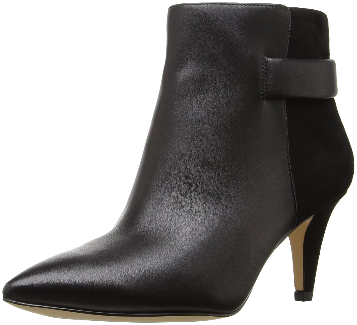 Nine West Women's Jaison Leather Ankle Bootie B01EXXK2UC 6 B(M) US|Black