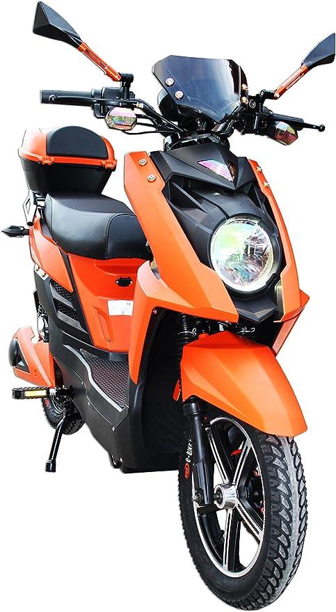 Bicicleta eléctrica con pedaleo asistido - E-Scooter con motor de ...