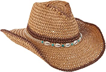 7b0a7caff6d2c TROPICAL TRENDS Crocheted Toyo Straw Western Jute Shell Details (LT178)