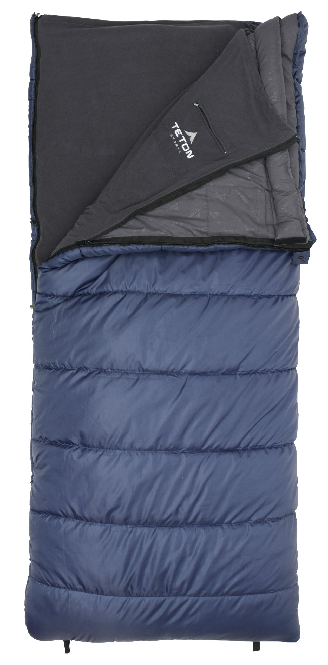 TETON Sports Polara 3-in-1 0F Sleeping Bag; 0 Degree Sleeping Bag Great for Cold Weather Camping and Hunting; Free Compression Sack Included by Teton Sports (Image #2)