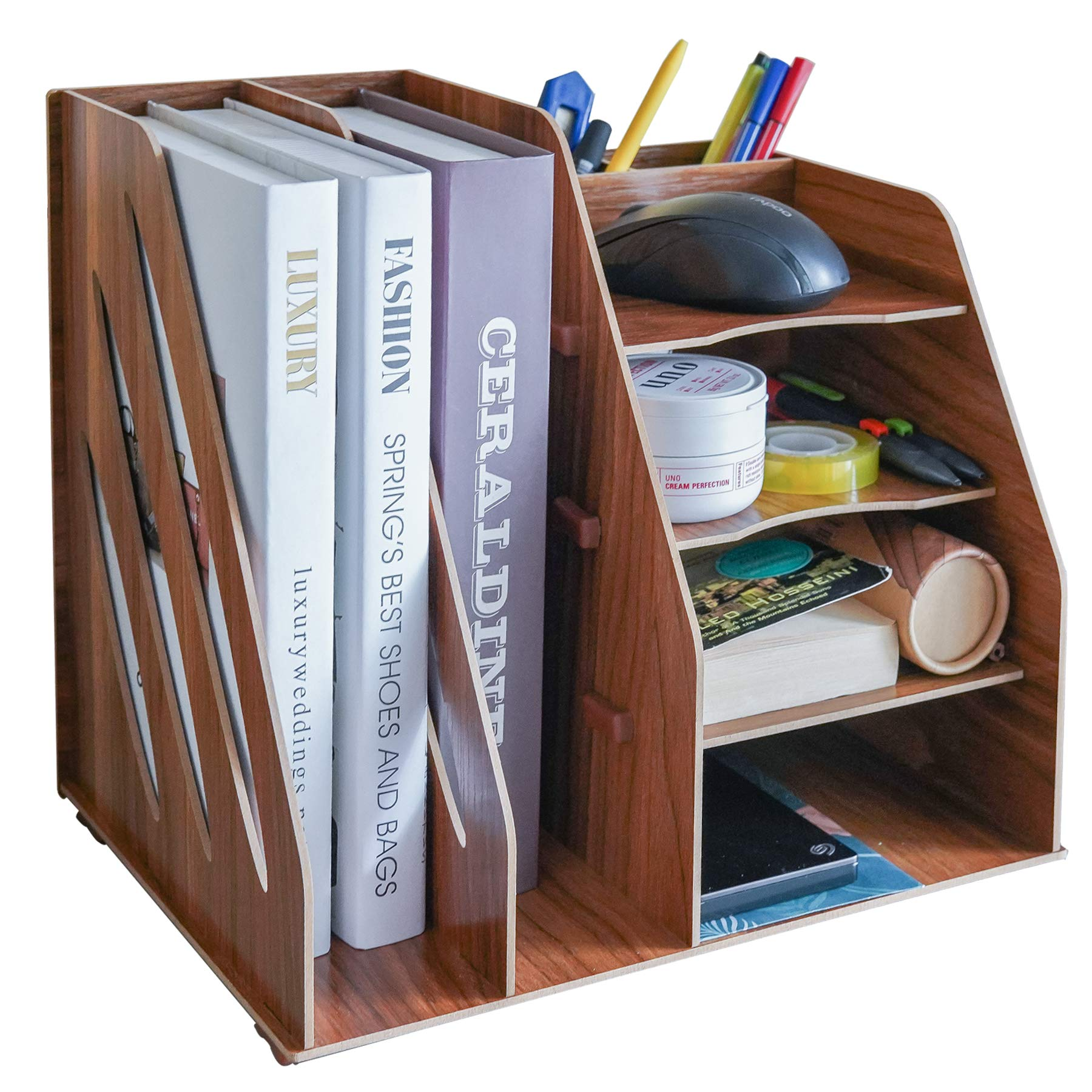 CLAPOTIS Multifunctional Organizer/Desk Organizer/Pen Holder Organizer/Accessory Organizer