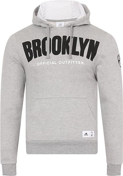 adidas NBA Brooklyn Nets Basketball Hoody Sweat à Capuche