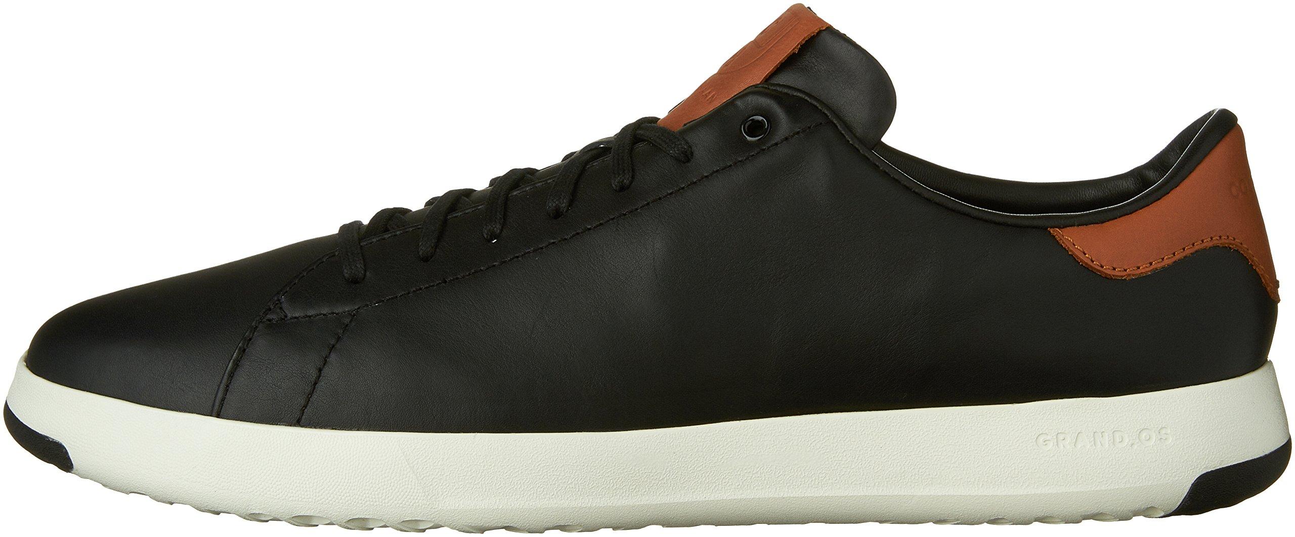 Cole Haan Men's Grandpro Tennis Fashion Sneaker, Black/British Tan, 7 M US by Cole Haan (Image #5)