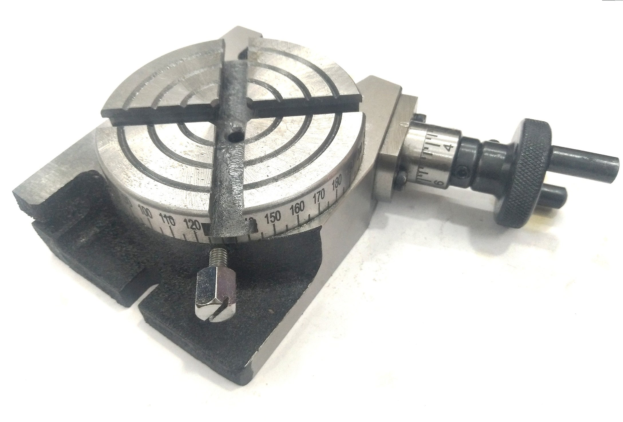 New 4'' Inches (100 mm) Quality Regular Rotary Table for Milling Machines by Global Tools