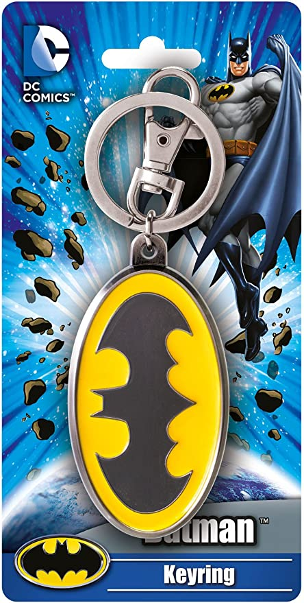 DC Comics Justice League Batman Superman Logo Alloy Key Chains Keychain Keyring