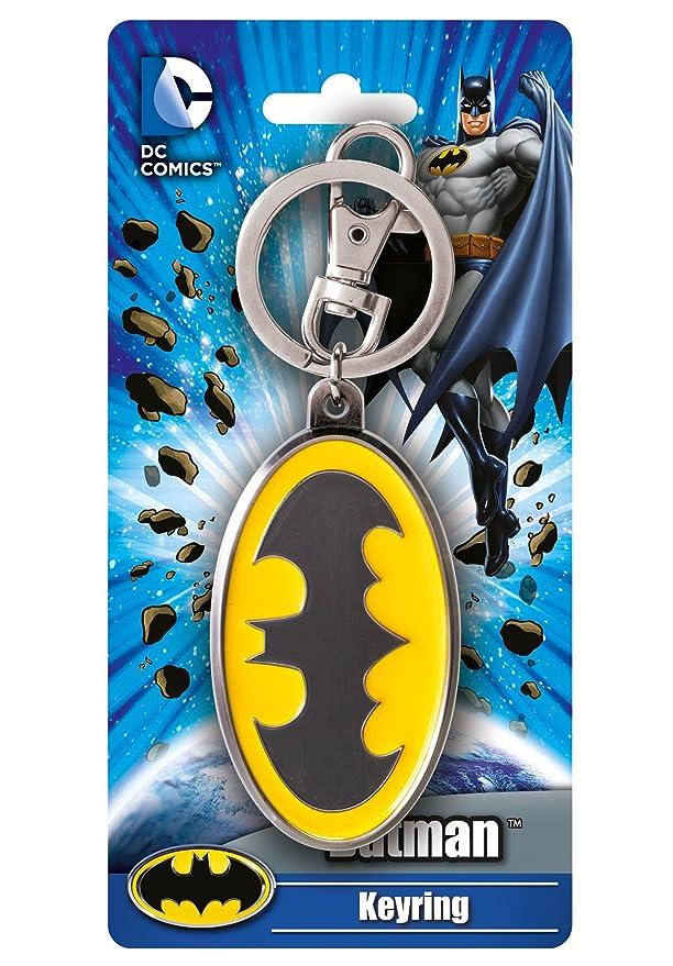 Amazon.com: DC Logo Batman de color Pewter Llavero: Toys & Games