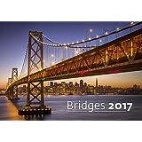 Modern Art Calendar - Calendars 2016 - 2017 Calendar- Architecture Calendar - Poster Calendar - Photo Calendar - Bridges By Helma