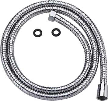 "Angle Simple Hand Shower Hose 59/"" Flexible Stainless Steel Shower Head Hose H..."
