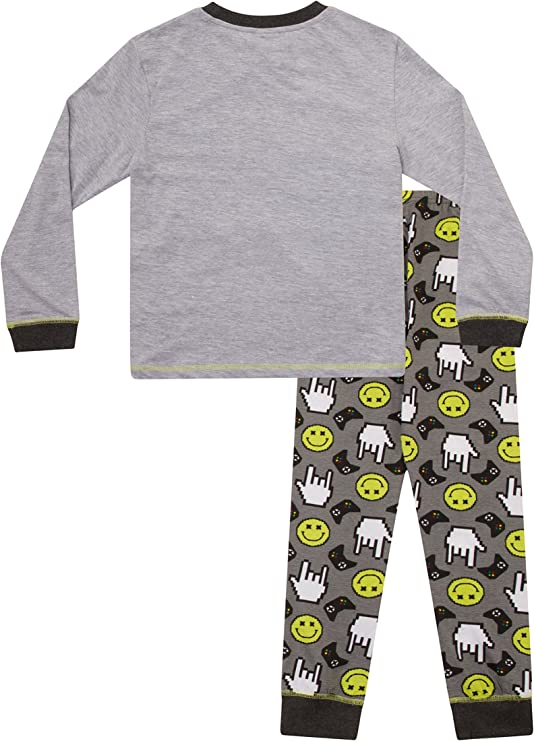 Tiempo de juego niños propiedad larga pijama 8 A 15 años juego de ordenador