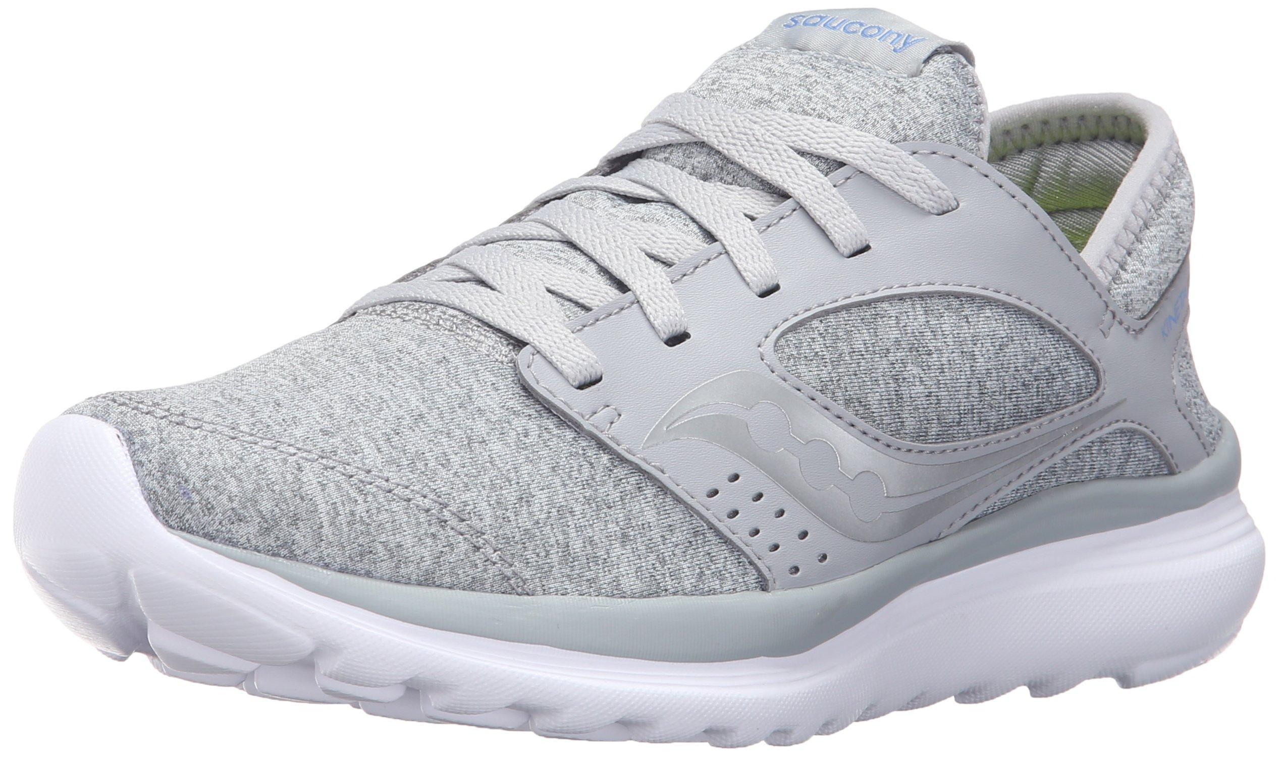 Saucony Women's Kineta Relay Running Shoe, Grey Lavender, 5 Medium US