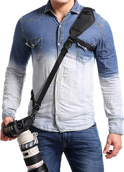 Lanyard Style Canon PowerShot N Neck Strap Adjustable With Quick-Release.