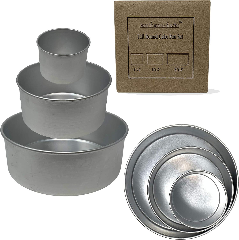 4//5//6//8//10 Inch Aluminium Round Baking Cake Mold Pan Tray For Kitchen Cake Tool