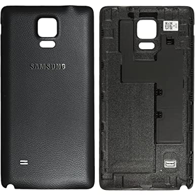 sale retailer 29030 69750 Original Samsung Battery Cover Black for Samsung N910F Galaxy Note 4 Back  Cover - GH98-34209B