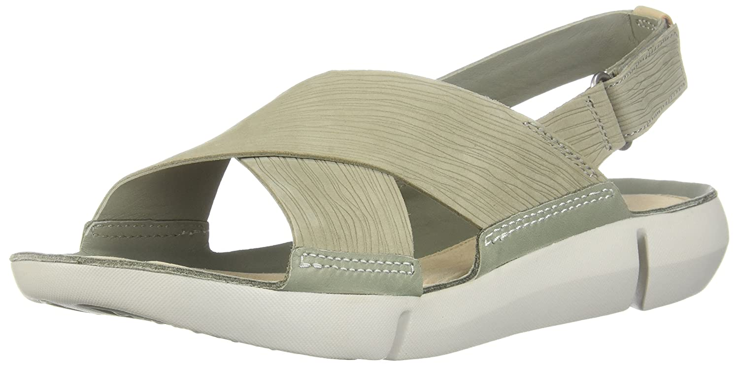 [クラークス] レディース 7.5 B(M) US Light Green Nubuck B0754P322X