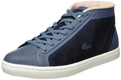 f04607b452 Lacoste Straightset Chukka 316 2, Baskets Basses Femme, Bleu-Blau (BLU 125