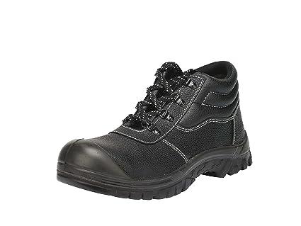 gsa - Calzado de protección de Piel para hombre, color Negro, talla 46