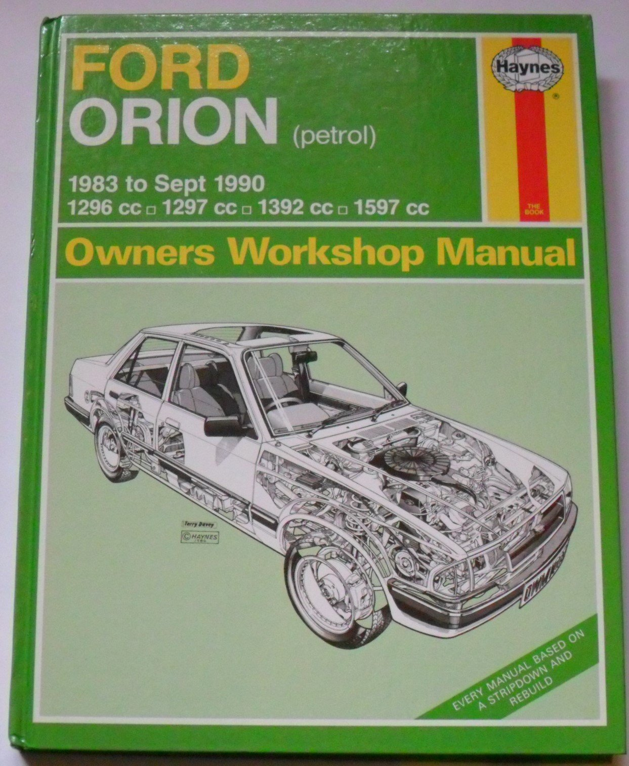 Ford Orion (Petrol) 1983-91 Owner's Workshop Manual (Service & repair  manuals) by Ian Coomber (1991-12-06): Amazon.com: Books