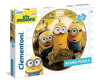 Clementoni 21404 - Round Puzzle Minions, 212 Pezzi Clementoni Spa Italy 21404.4