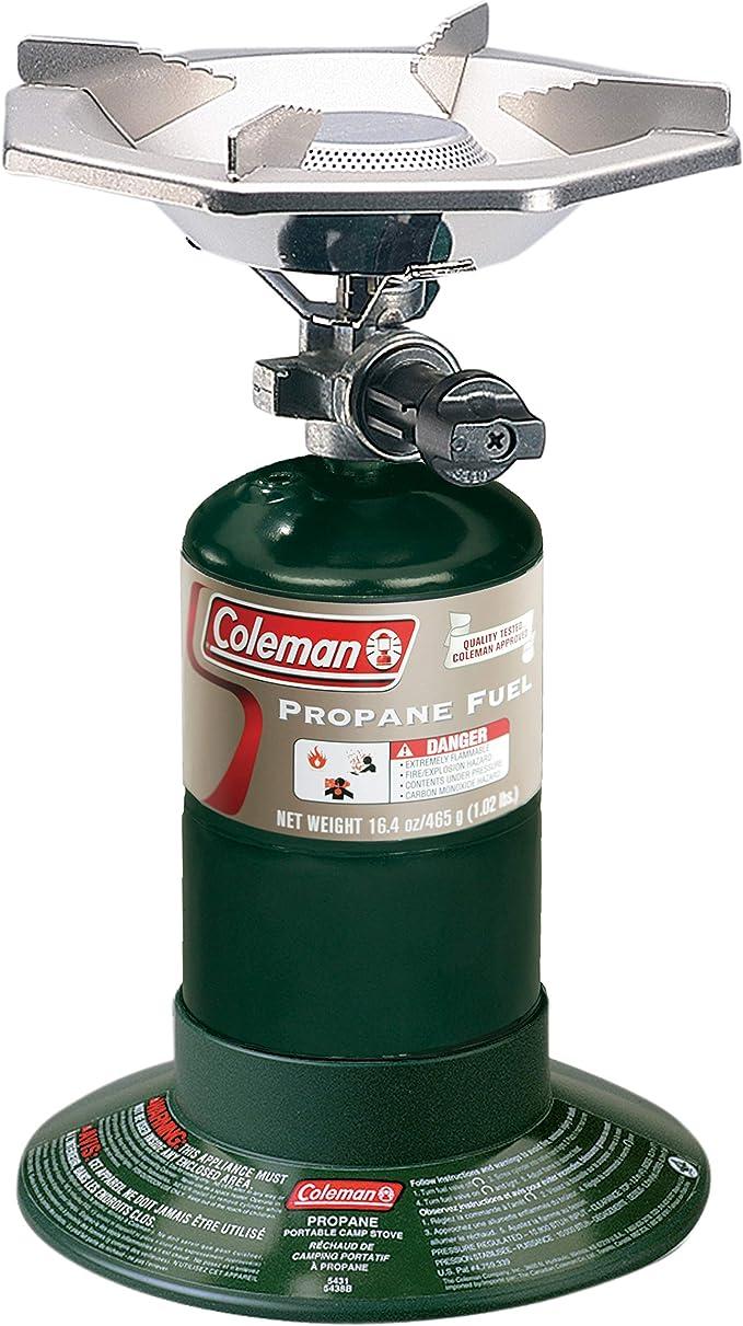 Coleman便携式瓶盖丙烷煤气炉配可调燃烧器