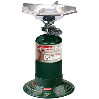 Coleman Bottle Top Propane Stove,Green,6.62  H x 7.81  W x 7.75  L