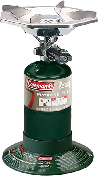 Coleman Portable Bottletop Propane Gas Stove with Adjustable Burner