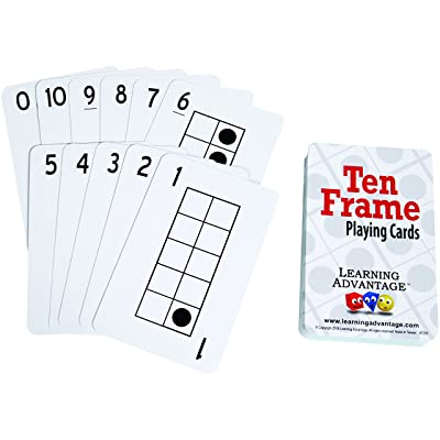 Learning Advantage Ten Frames Playing Cards: Industrial & Scientific
