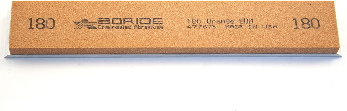 Breeze Semi-Natural 6 x 1 x 0.25 Sharpening Stone with Aluminum Mounting for Edge Pro 4,000 grit Gritomatic