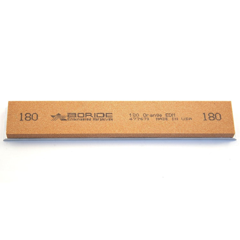 15 x 2,5 x 0,6 cm Orange Boride Schleifstein f/ür Edge Pro F 600 082659X