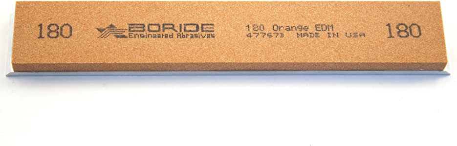 4 stones + leather strop + paste Boride Value 6 x 1 x 0.25 Sharpening Stone Set with Aluminum Mounting for Edge Pro
