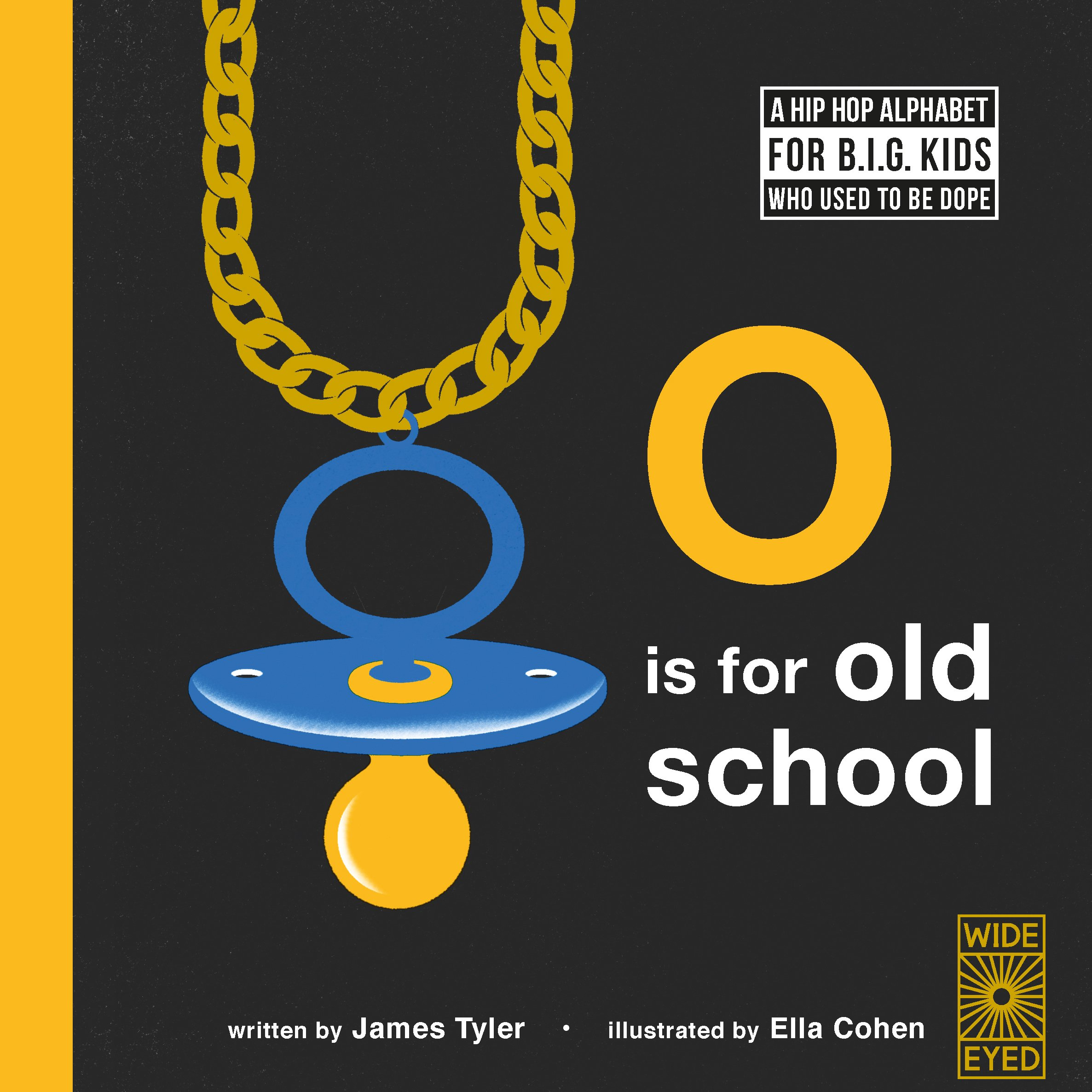beeaf42b8 O is for Old School  A Hip Hop Alphabet for B.I.G. Kids Who Used to ...