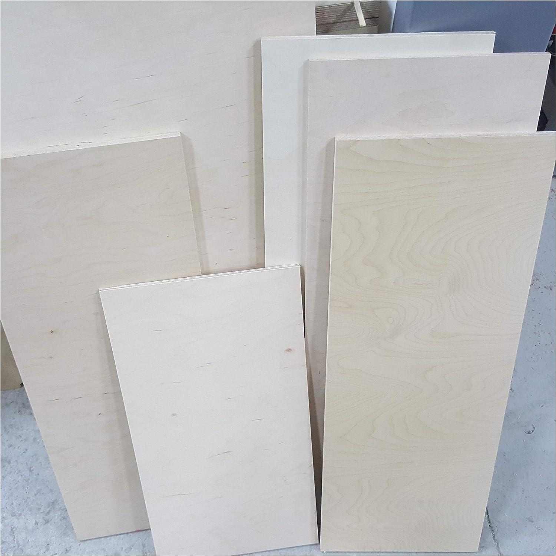 30x10 cm 10mm Sperrholz-Platten Zuschnitt L/änge bis 150cm Birke Multiplex-Platten Zuschnitte Auswahl