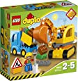 Lego - 10812 - DUPLO Town - Camion e scavatrice cingolata