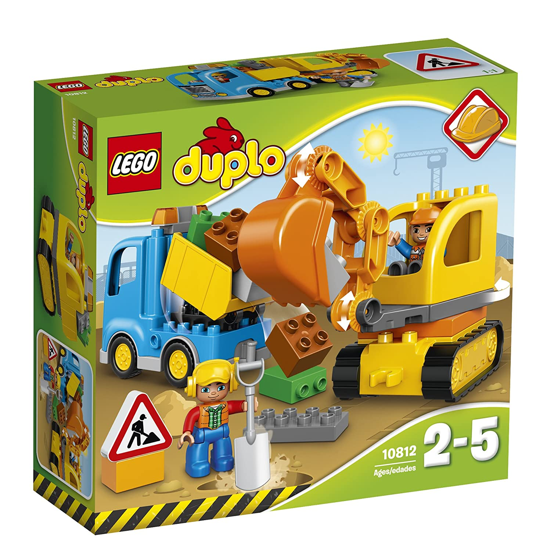 LEGO Duplo Town Camión y excavadora con orugas