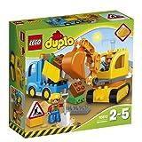 LEGO Truck & Tracked Excavator Play set
