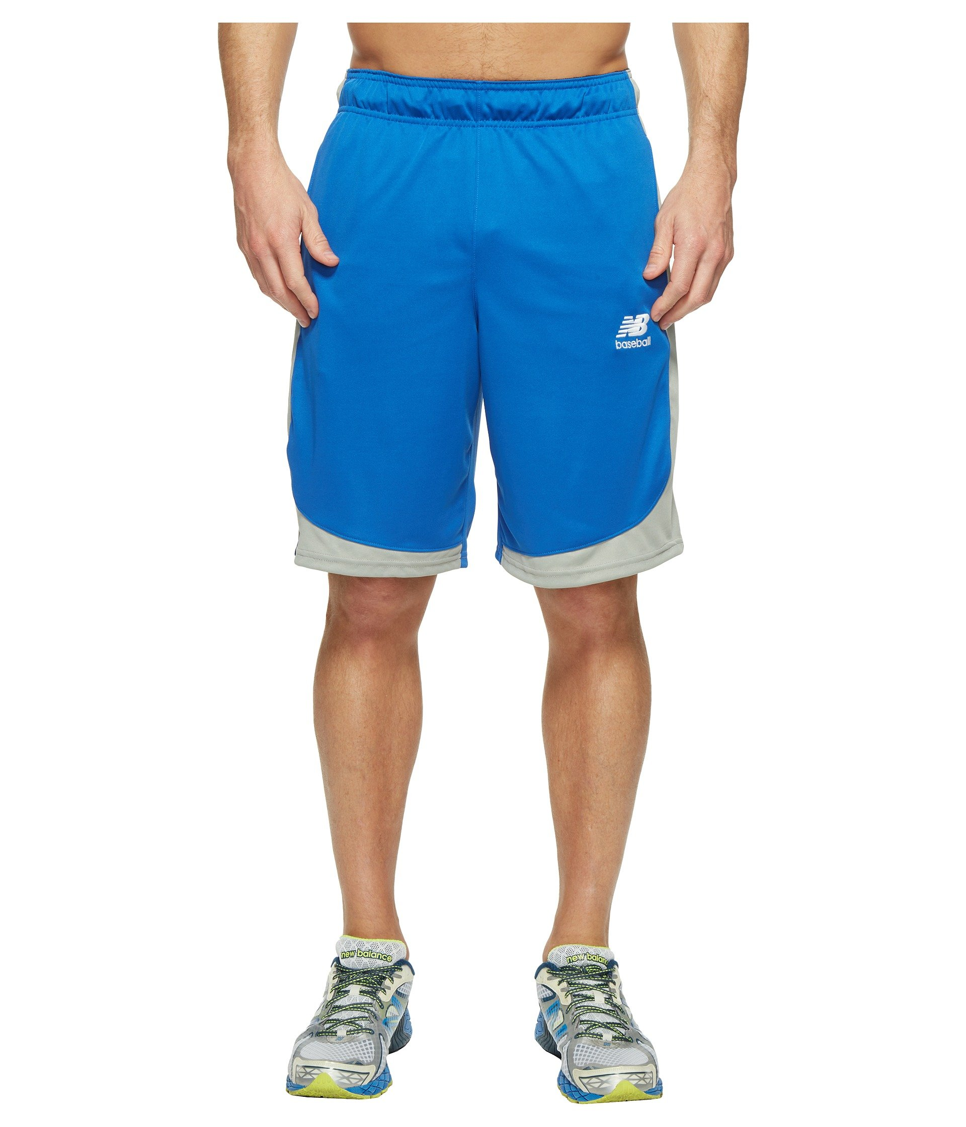 New Balance Men's Baseball Training Shorts, Royal, Small by New Balance