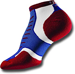 product image for thorlos Thorlo Experia USA Micro Mini Socks, M6-8/W7-9