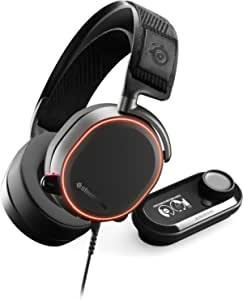 SteelSeries Arctis Pro + GameDAC Gaming Headset - Certified Hi-Res Audio System for PS4 and PC [International version]