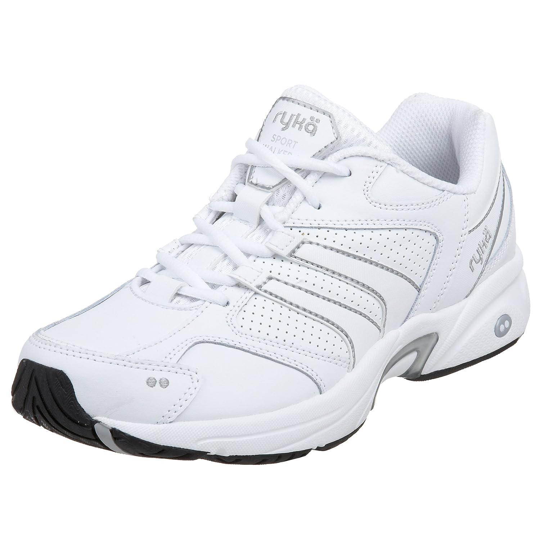 4f9b64ff1056e Ryka Women's Sport Walker 4 Walking Shoe,White/Grey,7.5 M: Amazon.in ...