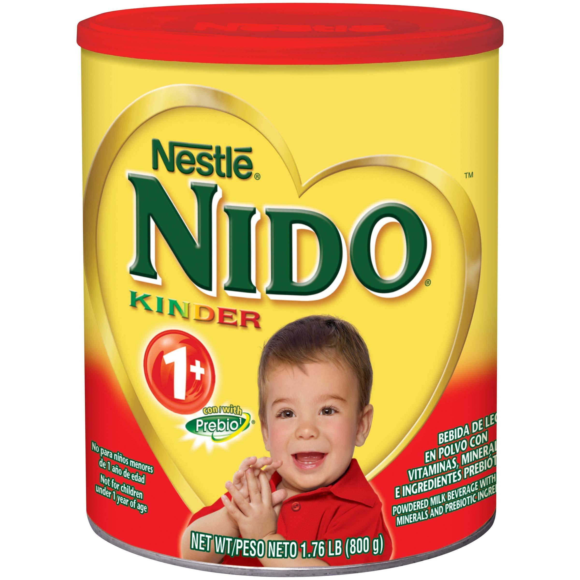 NESTLE NIDO Kinder 1+ Powdered Milk Beverage 1.76 lb. Canister (2 pack) by Nido (Image #1)