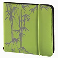 Hama Up to Fashion Nylontasche für CD-/DVD bis 24 CD/DVD grün