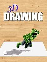 Time Lapse 3D Drawing: Hulk