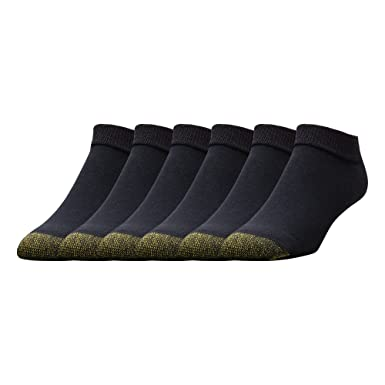 1ba08842fab Gold Toe Men s 6-Pack Cotton Low Cut Sport Liner Socks at Amazon ...