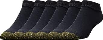 Gold Toe mens Cotton Low Cut Sport Liner Socks, 6 Pairs