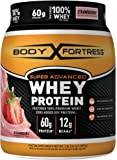 Body Fortress Super Advanced Whey Protein Powder, Strawberry, 2 Pounds