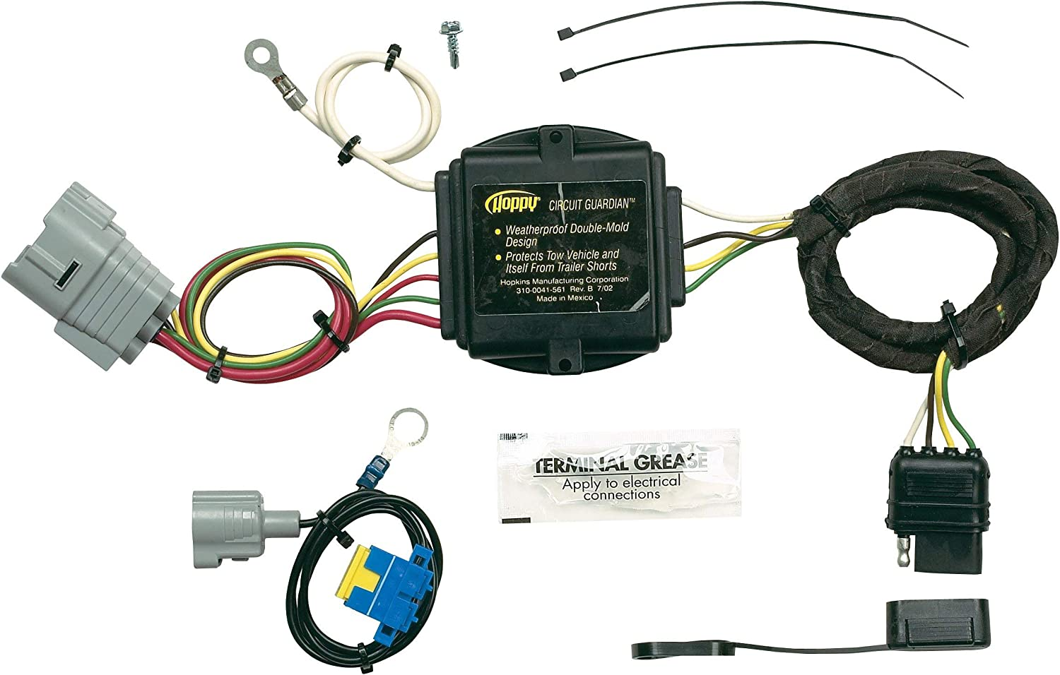 Amazon.com: Hopkins 43375 Plug-In Simple Vehicle Wiring Kit: Automotive | Tundra Tow Package Wiring |  | Amazon.com