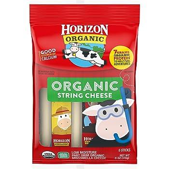 Horizon Organic Organic Mozzarella String Cheese