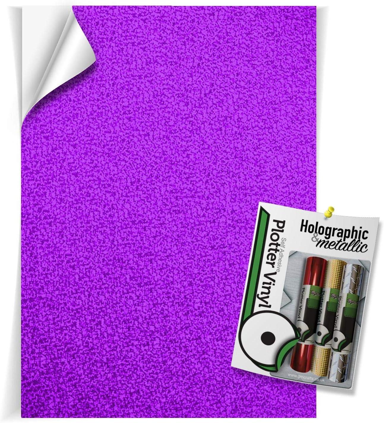 Vinilo holográfico – Hoja Holographic Purple: Amazon.es: Hogar